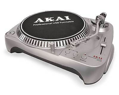 AKAI ATT022U BELT DRIVE USB RECORD TURNTABLE RECORD PLAYER built-in phono preamp