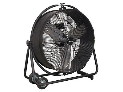 "Sealey HVF24S Industrial High Velocity Orbital Drum Fan 24"" 230V"