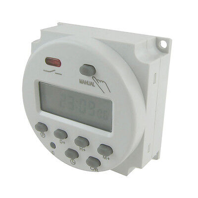 Digital LCD Power Programmable Timer Time Switch