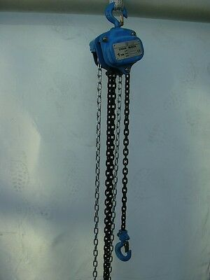 Samson Lifting 3 Ton S.W.L Manual Chain Block/Hoist : 3m, 6m, and 10m