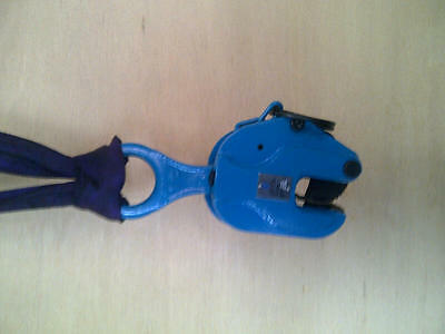 Vertical Plate Lifting Clamp: 1T or 2T