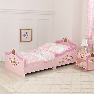 Kidkraft Princess Toddler Bed - Girls First Bed Cotbed Sized Base