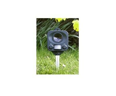 Ultrasonic Battery Operated Cat Repeller Deterrent Sonic Outdoor