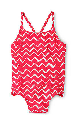 NEW Sprout Cross Strap One Piece Raspberry