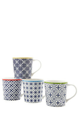 NEW Maxwell & Williams Luxor Mug, Set of 4, Gift Boxed, 400ml