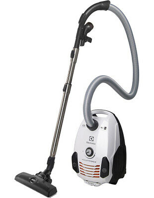 NEW Electrolux ZPF2310T Powerforce Bagged Barrel Vacuum Cleaner: Ice White