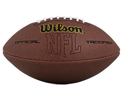 Wilson NFL Tackified Composite Leather Football - Brown