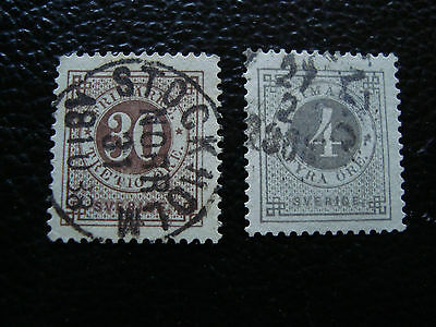 SUEDE - timbre yvert et tellier n° 31 36 obl (A27) stamp sweden