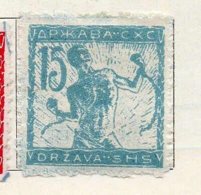 Jugoslavia 1919 Early Issue Fine Mint Higned 15h. 099488