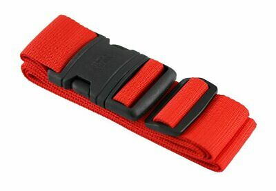 Lewis-N-Clark Quick-release Luggage Belt, Red #60RED