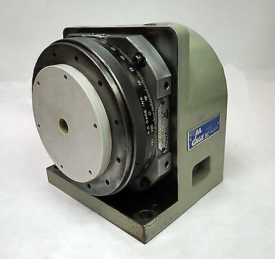 AA GAGE ULTRADEX 8 INCH HORIZONTAL AXIS ROTARY TABLE w BONUS 8 TO 6 INCH REDUCER