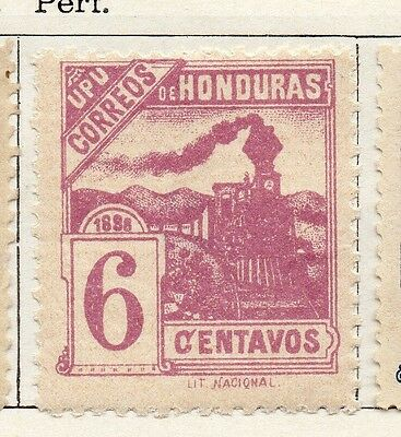 Honduras 1898 Early Issue Fine Mint Hinged 6c. 098800