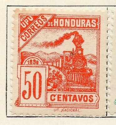 Honduras 1898 Early Issue Fine Mint Hinged 50c. 098803