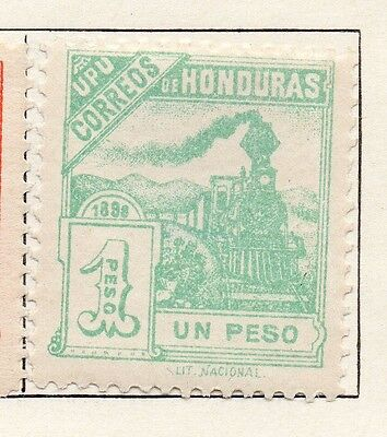 Honduras 1898 Early Issue Fine Mint Hinged 1P. 098804