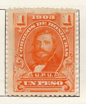 Honduras 1903 Early Issue Fine Mint Hinged 1P. 098811
