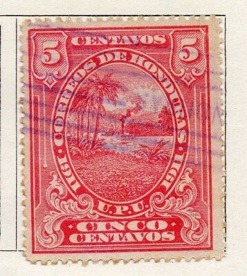 Honduras 1911 Early Issue Fine Used 5c. 098823
