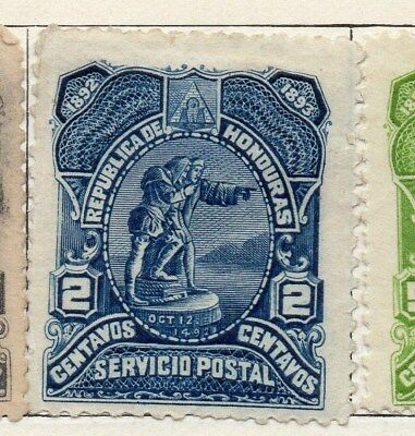 Honduras 1892 Early Issue Fine Mint Hinged 2c. 098828