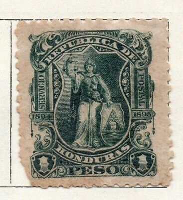 Honduras 1895 Early Issue Fine Mint Hinged 1P. 098844