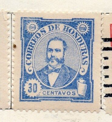 Honduras 1896 Early Issue Fine Mint Hinged 30c. 098850