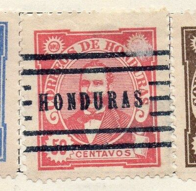 Honduras 1896 Early Issue Fine Used 50c. 098851