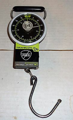"""Travelon 75 lb Scale with 39"""" Tape Measure"""