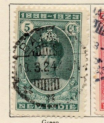 Dutch Indies 1923 Early Issue Fine Used 5c. 099242
