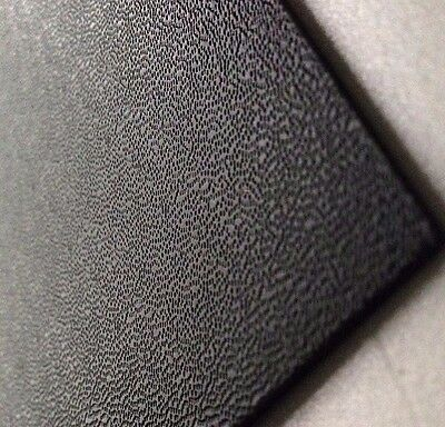 2mm Black Pinseal ABS Sheet 7 SIZES TO CHOOSE Acrylonitrile Butadiene Styrene