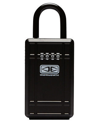 New Ocean And Earth Key Vault Lock Surfing Accessories Black