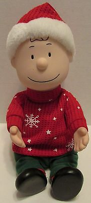 Gemmy Musical Peanuts Charlie Brown Christmas Toy - Works