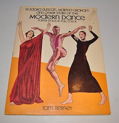 - MODERN DANCE PAPER DOLLS Tom Tierney 1980s-