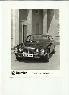 Daimler Series Two Sovereign Lwb  Press Photo 'brochure Connected'