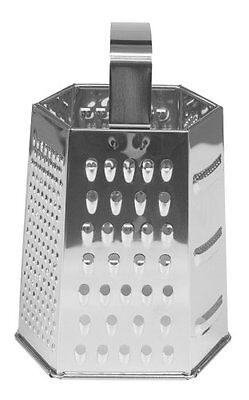 Fox Run Stainless Steel Six Sided Grater