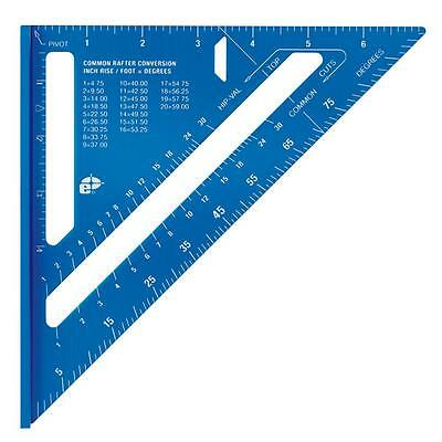 7 in Laser Etched Rafter Carpenter Square Aluminum Tool Framing Angle Protractor