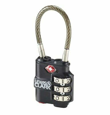 Lewis N. Clark Travel Sentry® Indicator® Heavy-Duty Cable Lock #TSA100