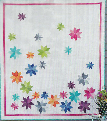 Bloom - fabulous modern applique quilt PATTERN - V and Co