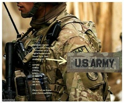 SYRIA IRAQ INHERENT RESOLVE GREEN BERETS vel©®⚙ MULTICAM BLOOD TAPE A POS X 2