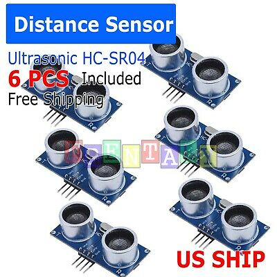 5X Ultrasonic Module HC-SR04 Distance Transducer Sensor For Arduino Robot
