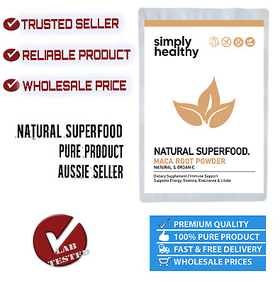 MACA ROOT POWDER 1kg RAW ORGANIC POWER SUPERFOOD ENHANCE LIBIDO MALE & FEMALE