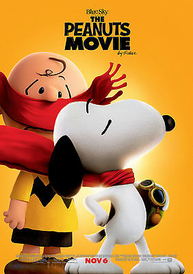 Peanuts Movie (2015) V3 - A1/A2 POSTER **BUY ANY 2 AND GET 1 FREE OFFER**