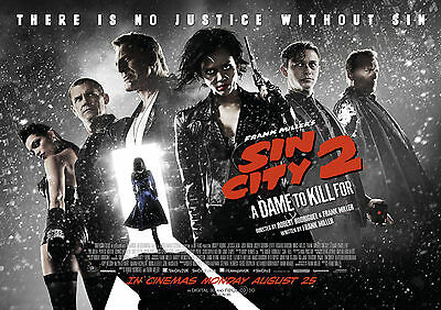 Sin City: A Dame to die for (2014) V11 - A1/A2 POSTER *BUY ANY 2 AND GET 1 FREE*