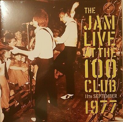 The Jam Live At The 100 Club 1977 Double LP 2016 Sealed Paul Weller Mod