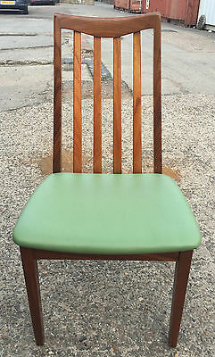 1 x g plan chair 70s 1970s retro vintage original reupholstered faux leather