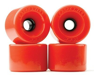 Star Track Kryptonics Krypto's Cruiser Skateboard Wheels 78A Red