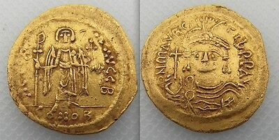 Collectable Late Roman Gold Coin Of Maurice Tiberius AD 578-582 - Justinian