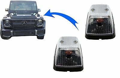 Turning Lights Lamps Indicators Mercedes G-Class W463 89+ OEM Look Clear