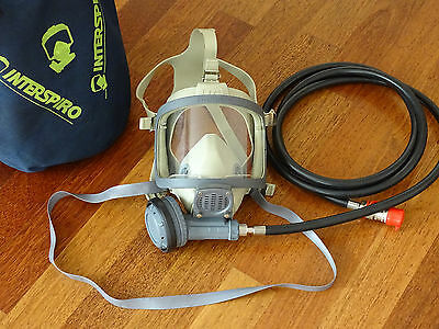 Interspiro Spiromatic Mask with Breathing Valve / Breathing Apparatus #2