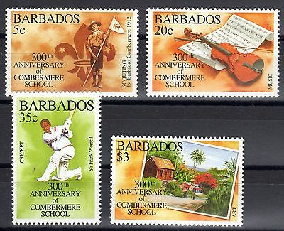 Barbados 1995 Combermere School scout MNH