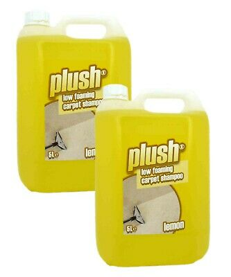 Plush Cleaning Carpet Solution Pet Odour Remover & Upholstery Cleaner Shampoo