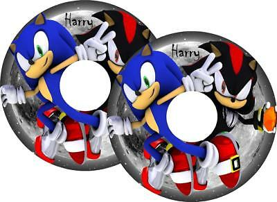 Wheelchair Spoke Guard STICKERS Personalised Designs Available Easy Fit