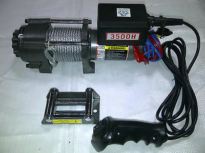 SAMSON 12V ELECTRIC WINCH: 3500lbs, 5000lbs or 12000lbs for Vehicle Recovery